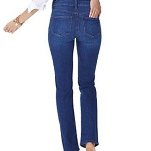 NYDJ Jeans Medium Wash Straight Slimming Jeans 10
